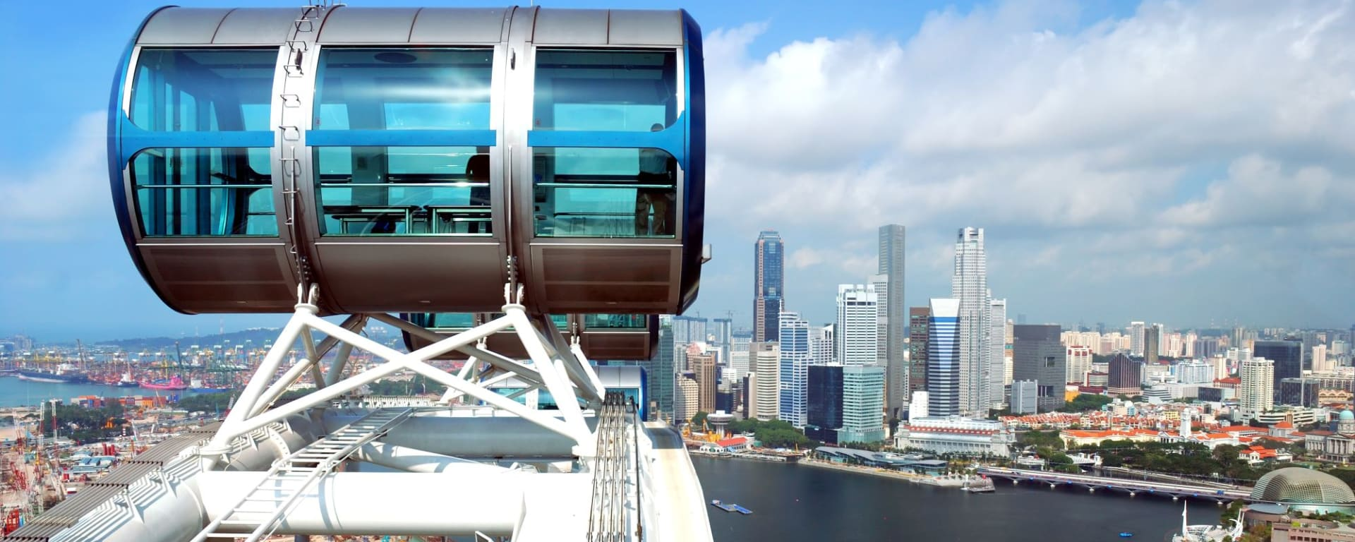 Wissenswertes zu Singapur Reisen und Ferien: Singapore Flyer