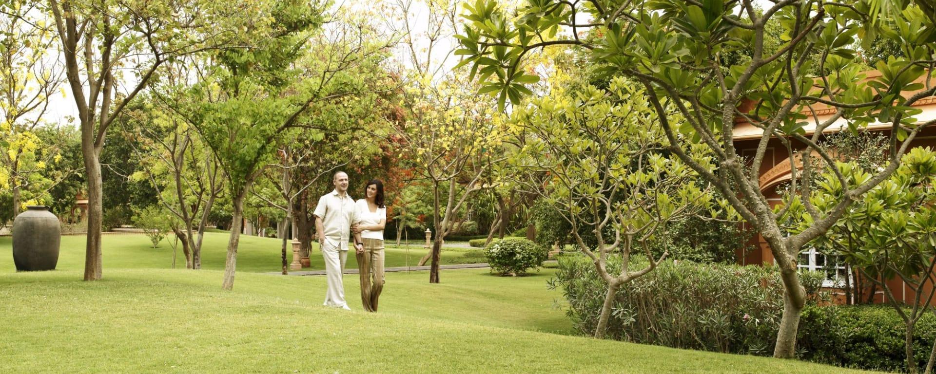 The Oberoi Rajvilas in Jaipur: Garden