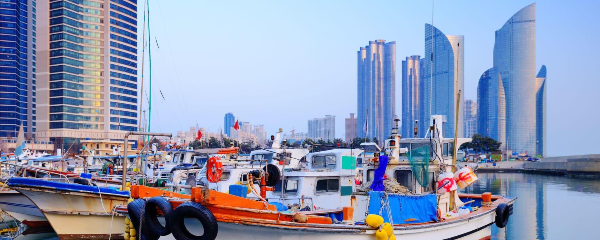 Kontrastreiches Südkorea ab Seoul: Busan