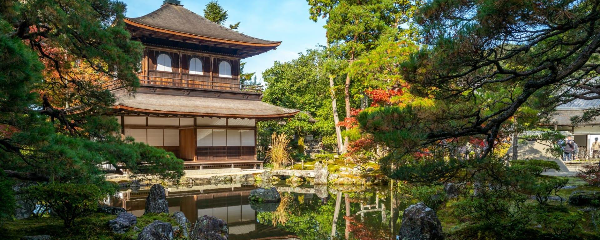 Les hauts lieux du Japon avec prolongation de Tokyo: Kyoto Silver Pavillion
