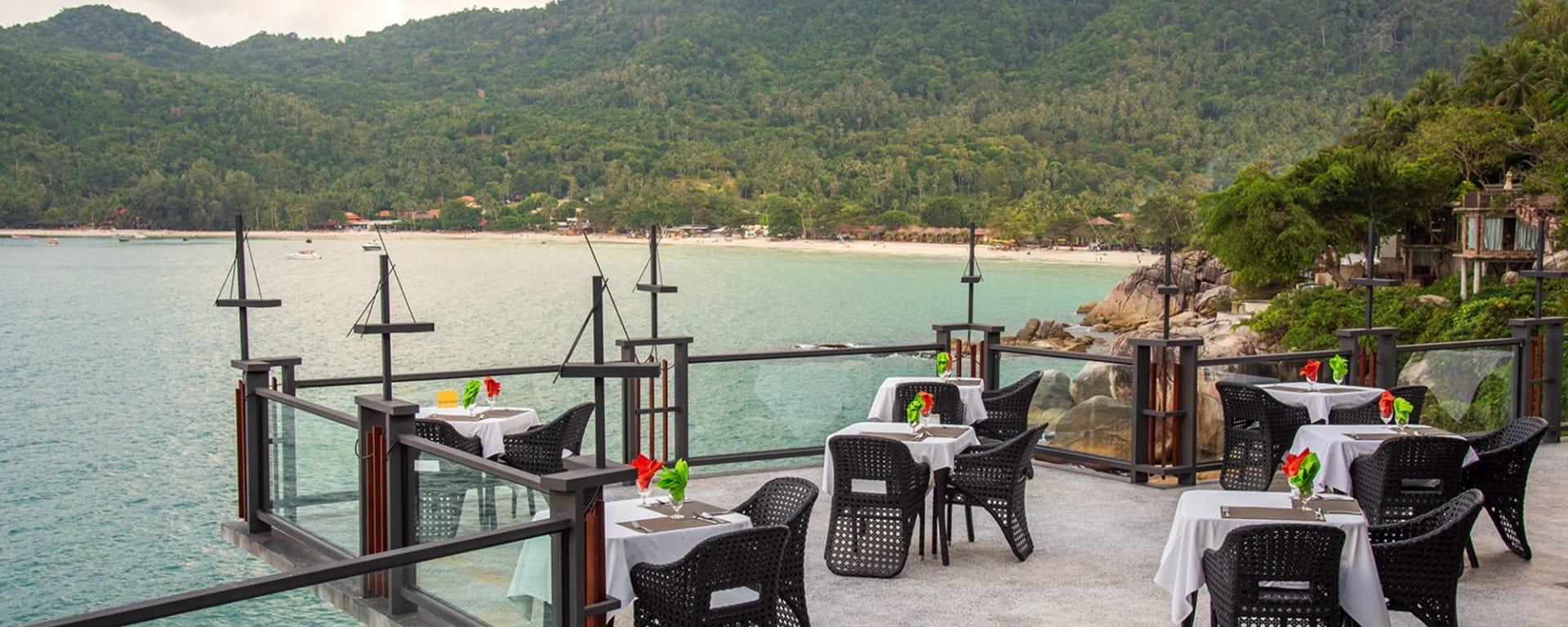 Panviman Resort in Ko Phangan: Pool Deck Bar