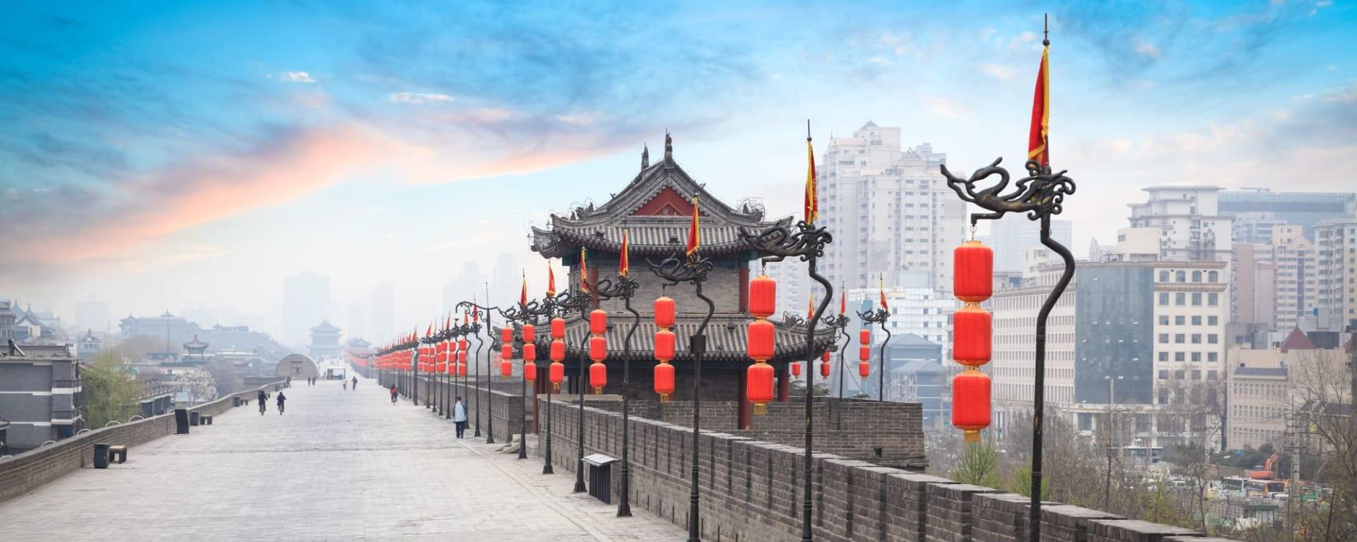 La Chine pour les fins connaisseurs avec une croisière de luxe sur le Yangtze de Pékin: Xian Ancient City Wall