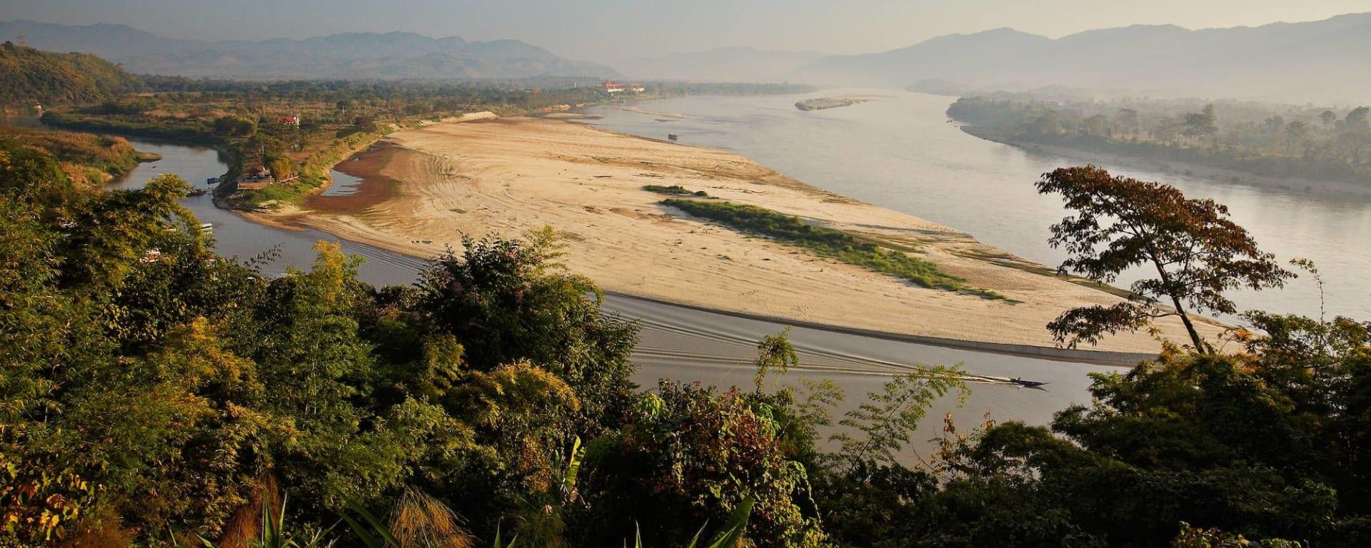 Thaïlande compacte de Bangkok: Mekong River Golden Triangle