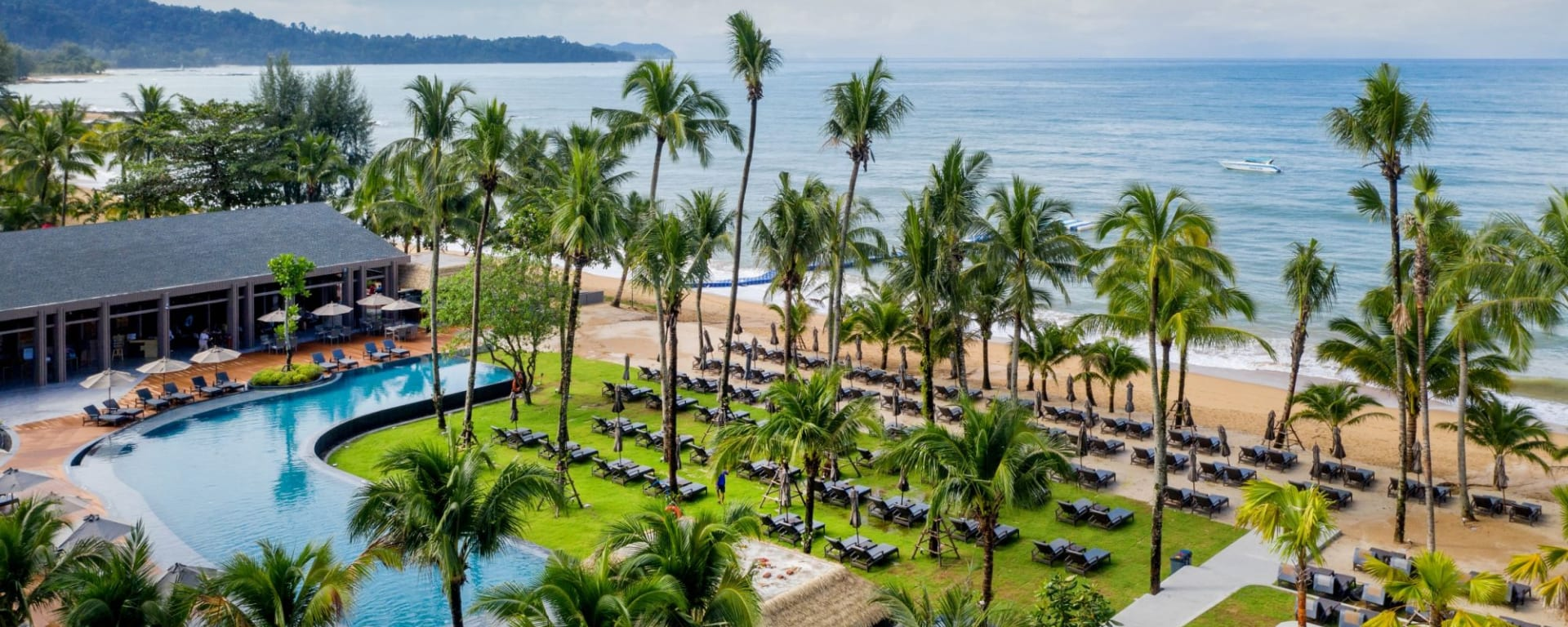 La Flora Khao Lak: Bird Eye View