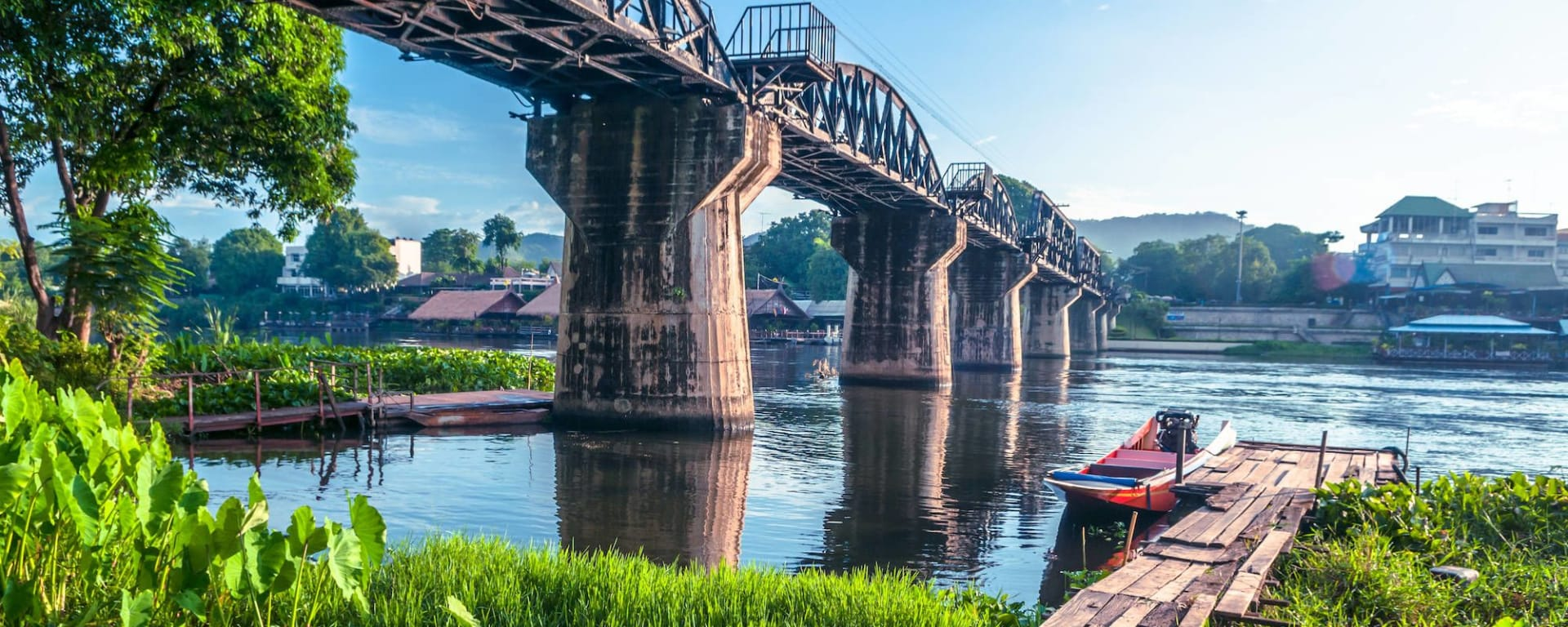 Le Siam royal de Bangkok: Bridge on River Kwai