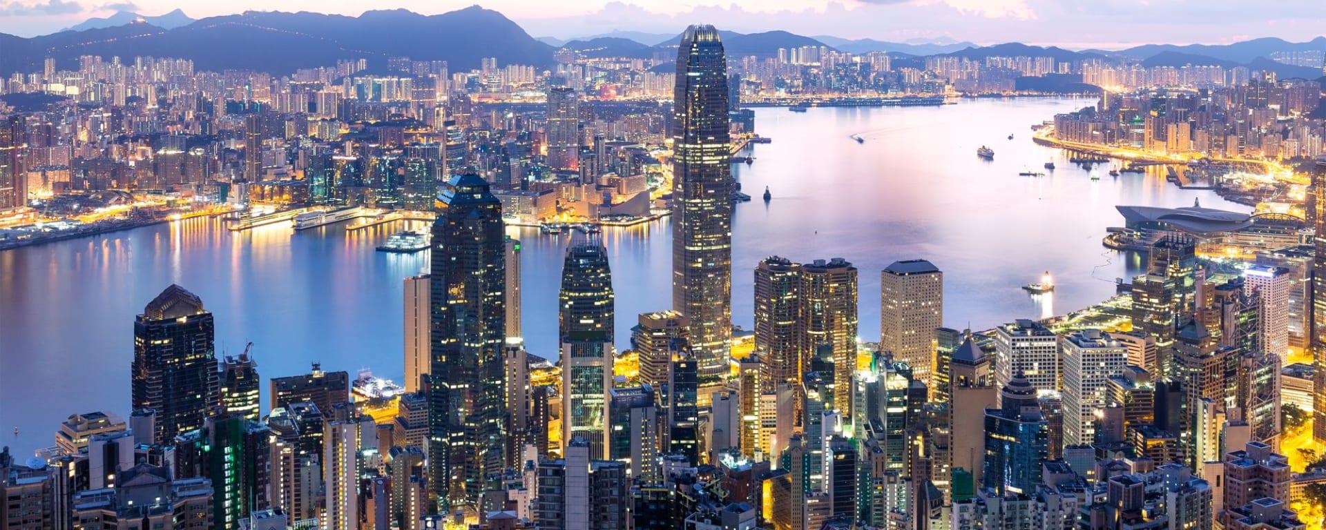Wissenswertes zu Hong Kong Reisen und Ferien: Hong Kong sunrise