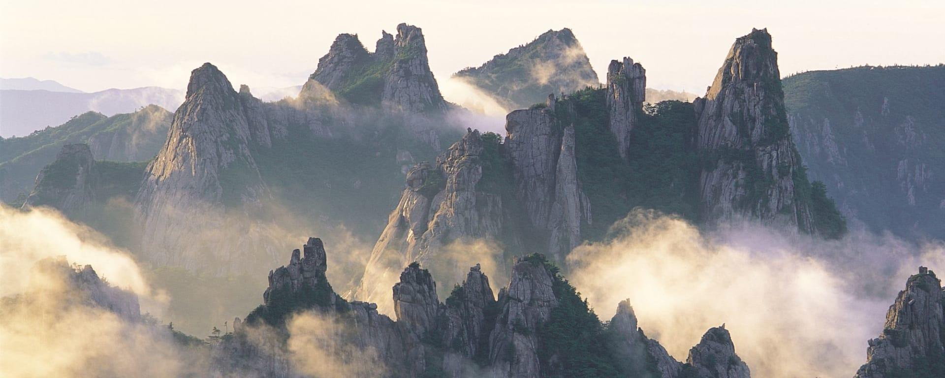 Kontrastreiches Südkorea ab Seoul: Seoraksan National Park