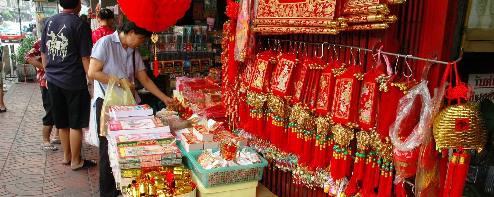 Bangkok abseits der üblichen Wege mit Bootsfahrt: Bangkok Chinatown