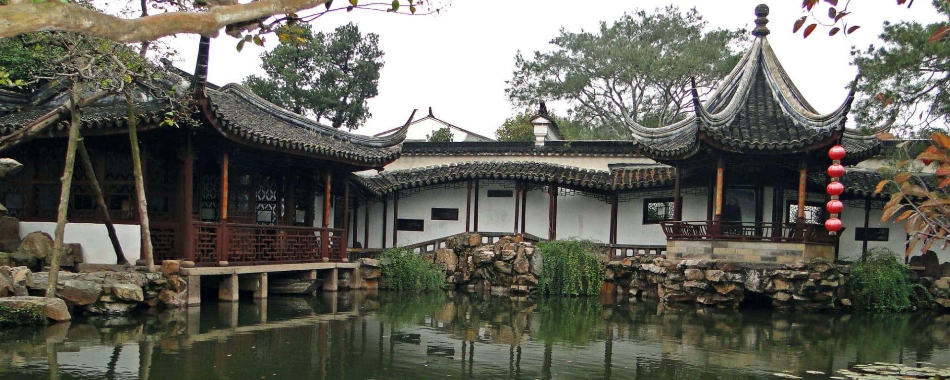 Escapade Tongli – Suzhou – Hangzhou de Shanghai: Suzhou: Garden of Net's Master