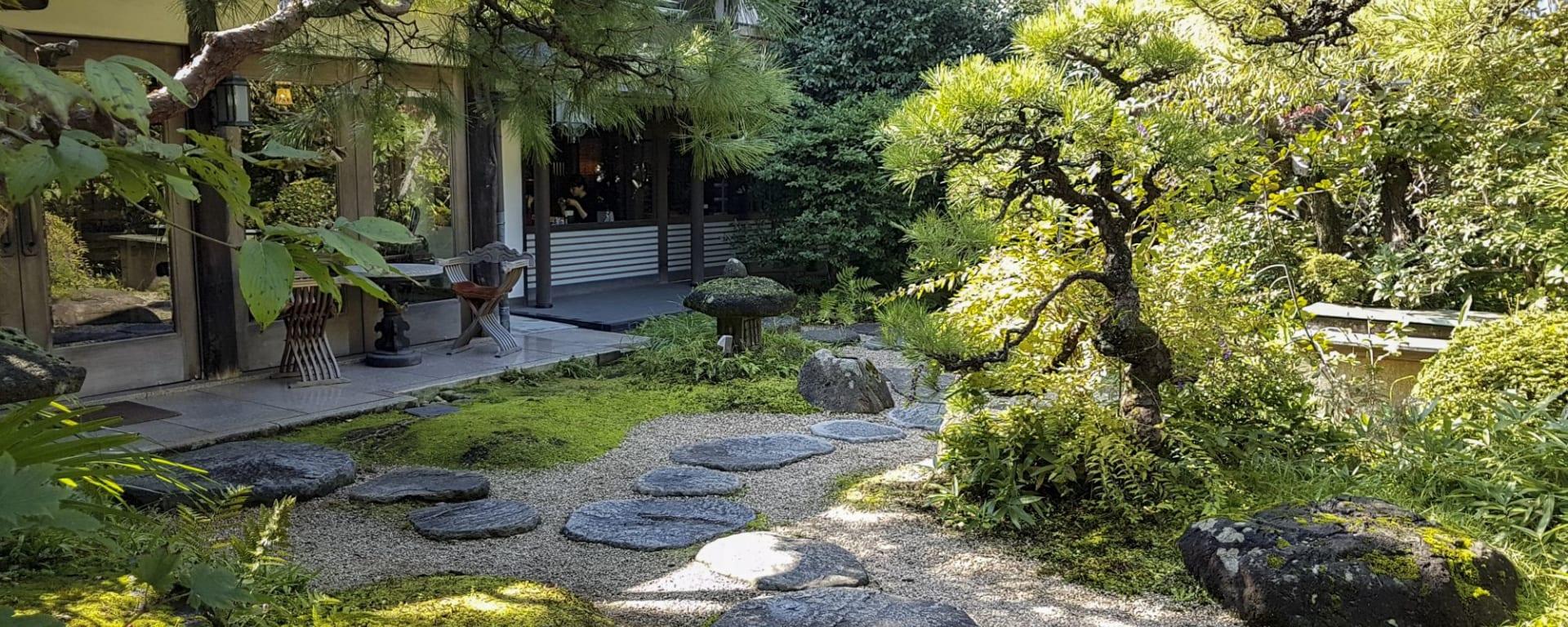 Kurashiki - Japans Traditionen hautnah erleben ab Okayama: facilities: Ryokan Kurashiki Garden