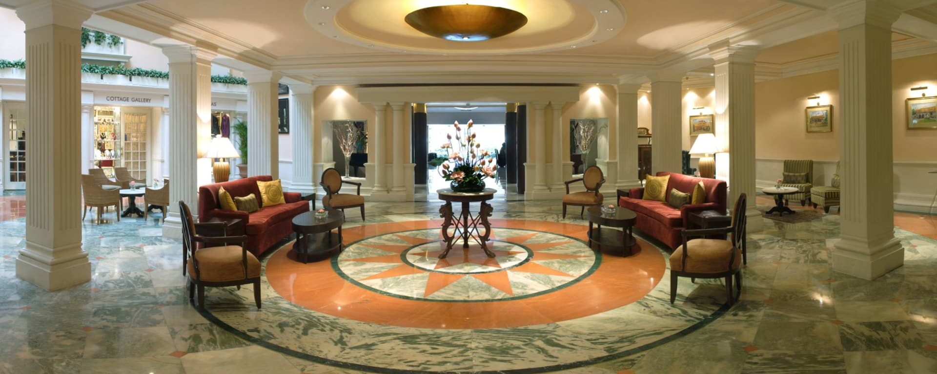 The Claridges à Delhi: Lobby