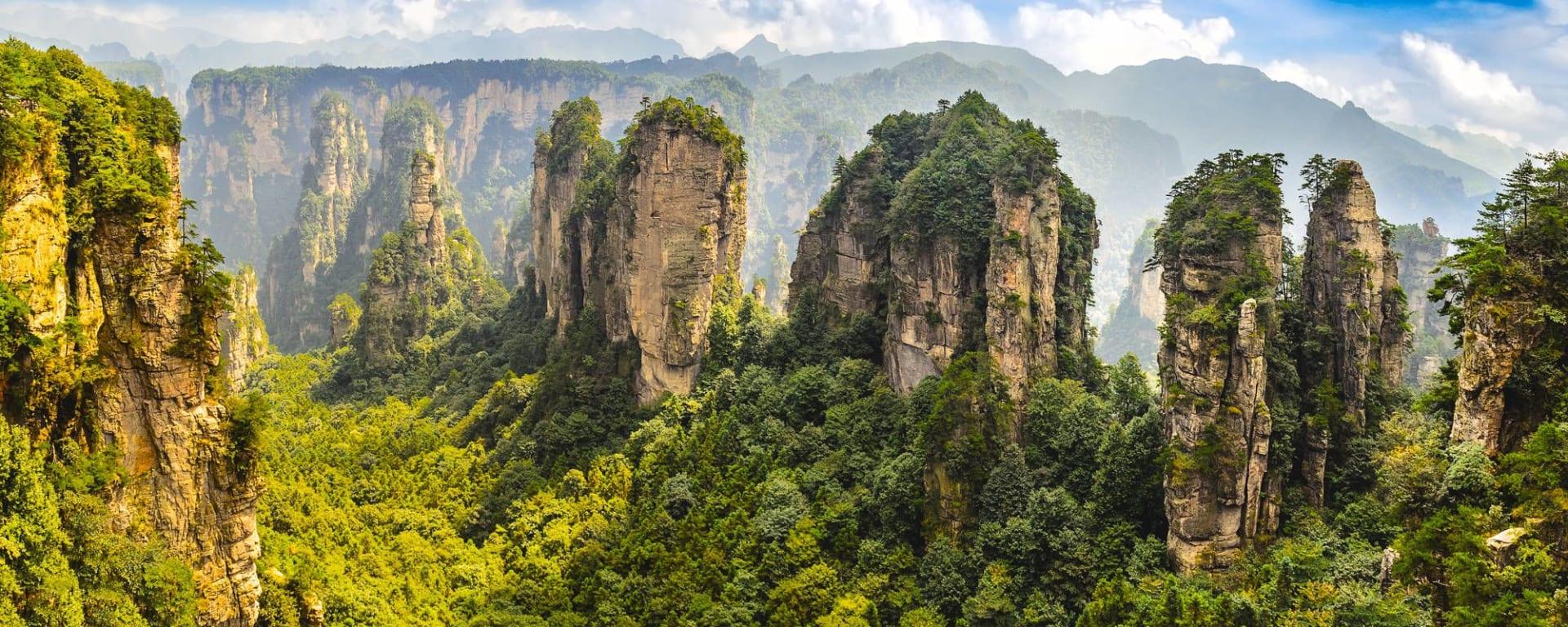 Tout savoir sur les voyages et les vacances en Chine: Zhangjiajie Forest Park
