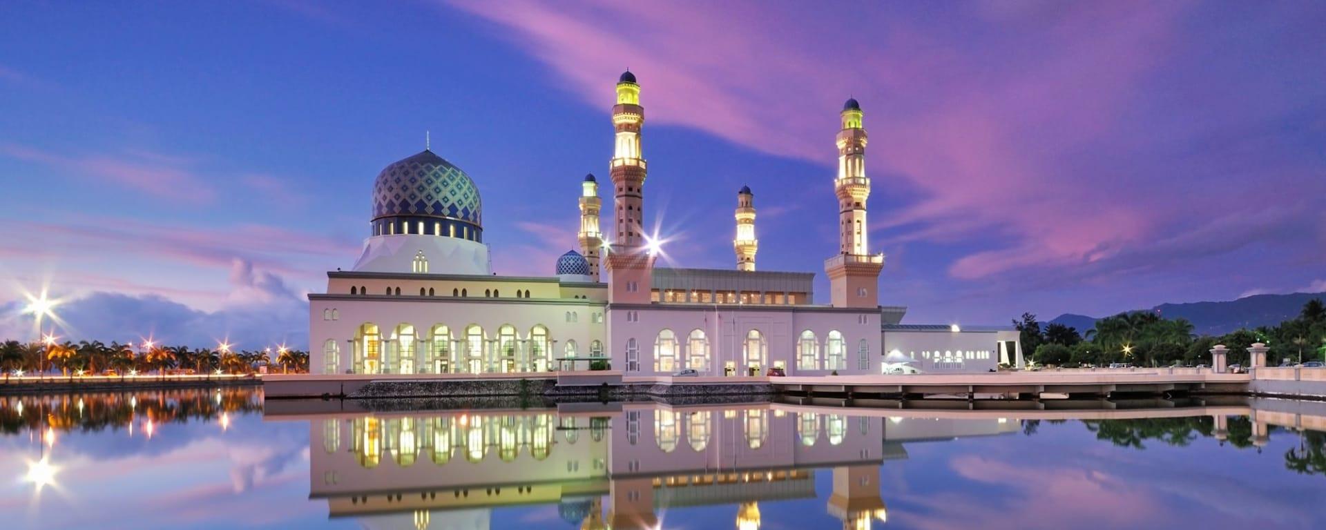 Tour de ville de Kota Kinabalu: Kota Kinabalu City Floating Mosque