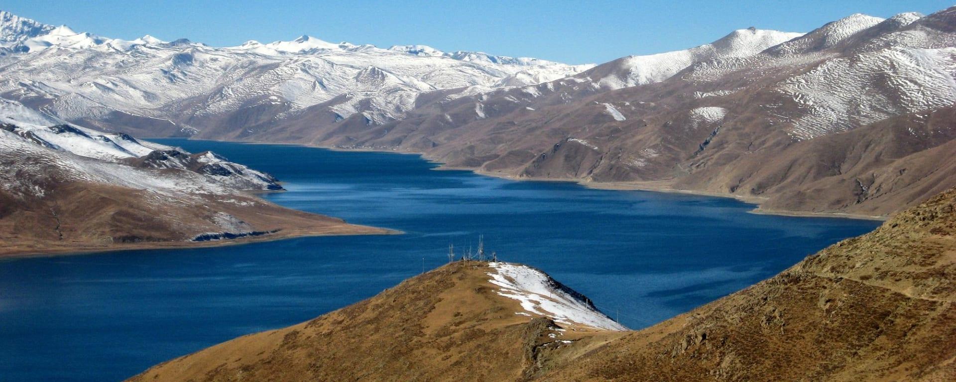 Die Magie des Tibets - Basisprogramm ab Lhasa: Yamdrok Lake