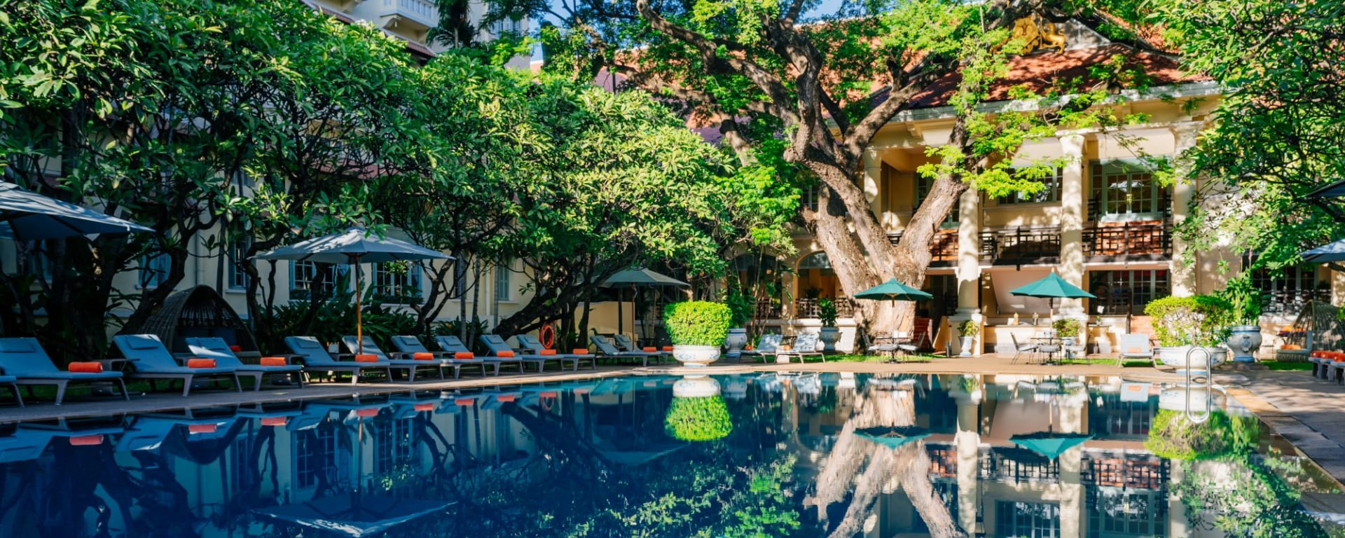 Raffles Hotel Le Royal à Phnom Penh: Swimming Pool
