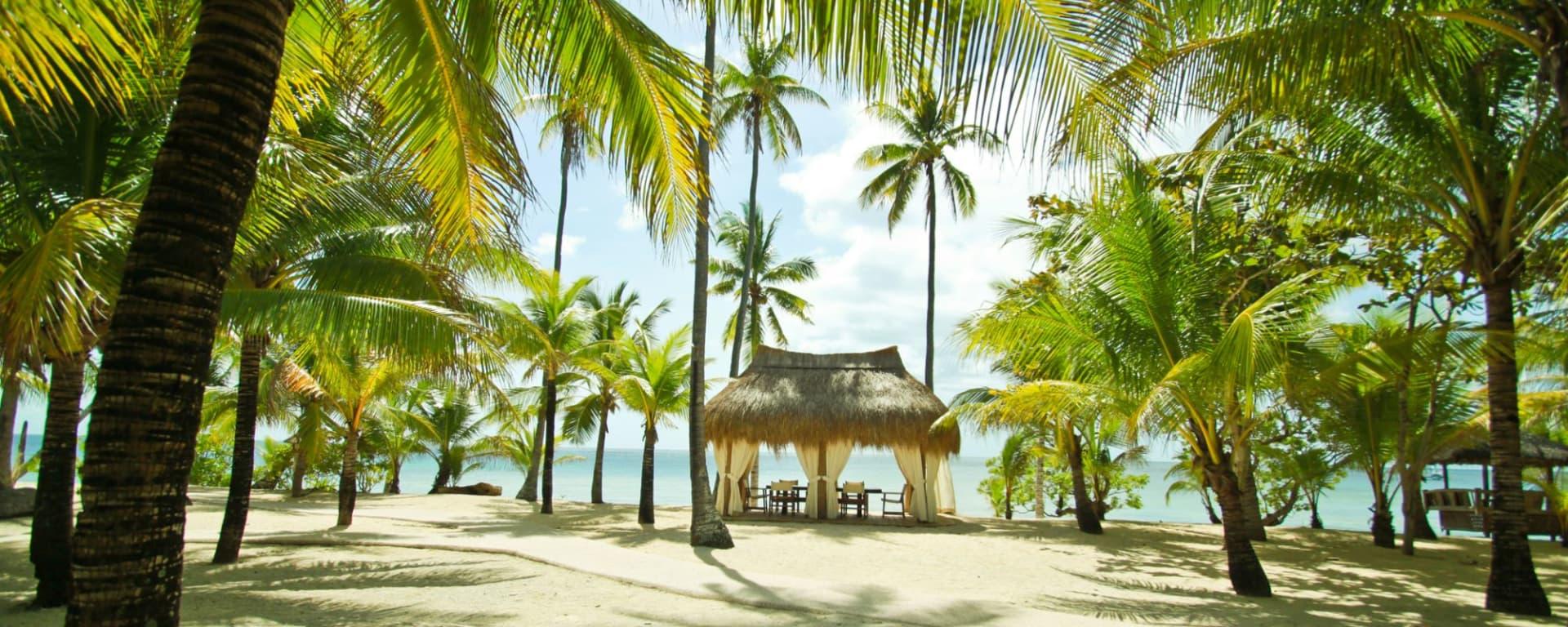 Coco Grove Beach Resort in Siquijor: Beach Side Nipa Hut