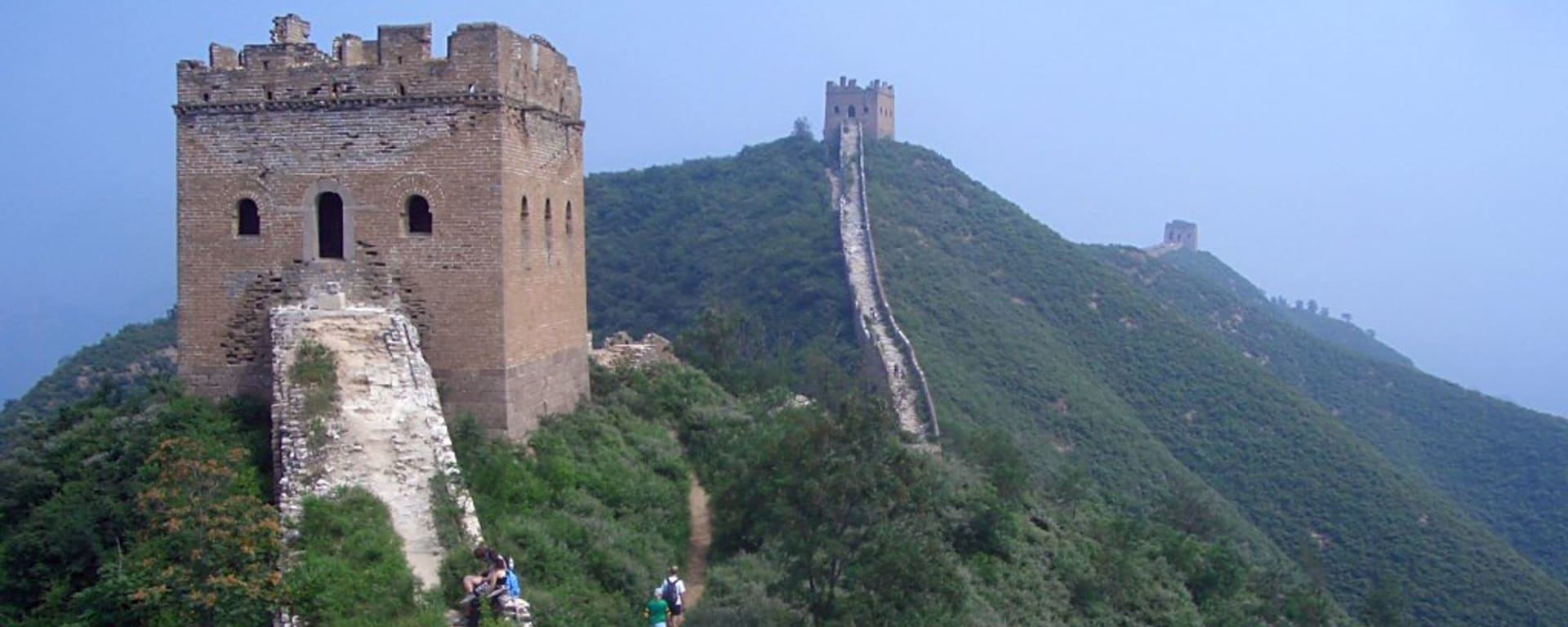 Trekking sur la Grande Muraille à Pékin: Great Wall Jinshaling to Simatai