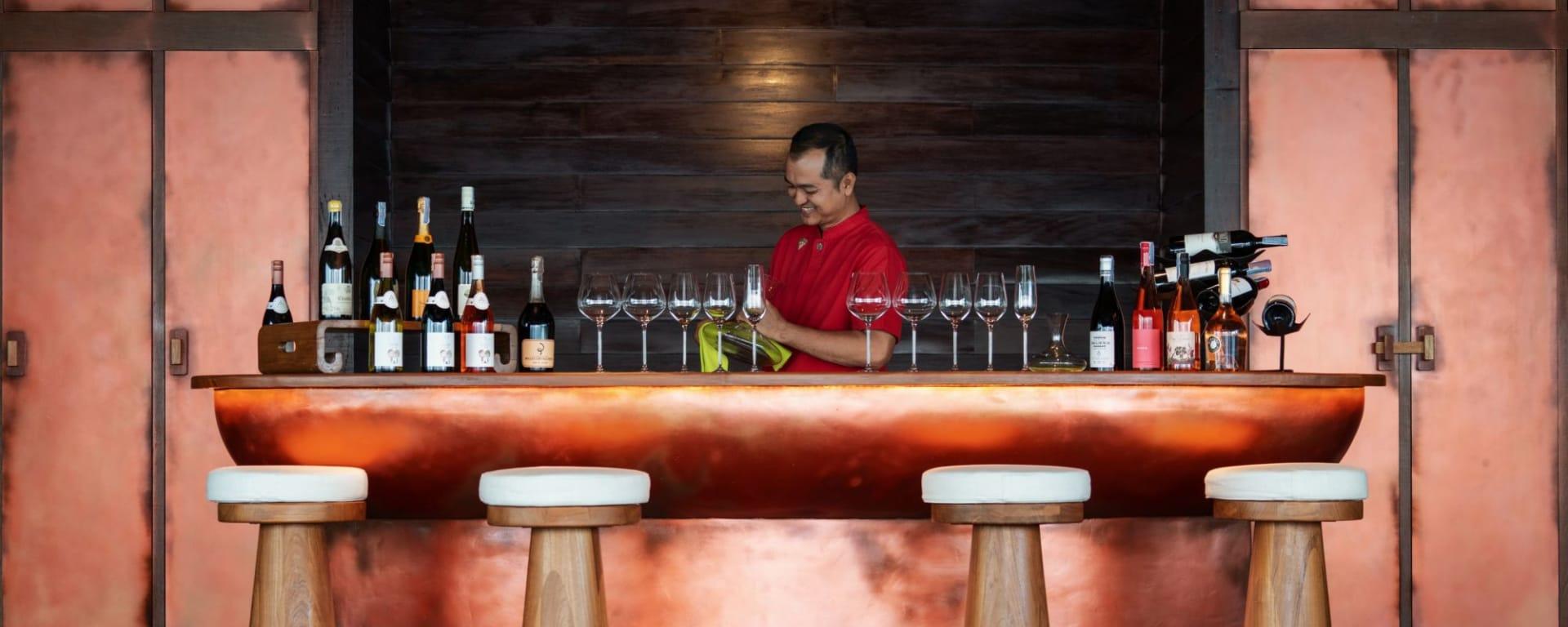 Six Senses Yao Noi in Ko Yao: Tasting Room at The Hilltop