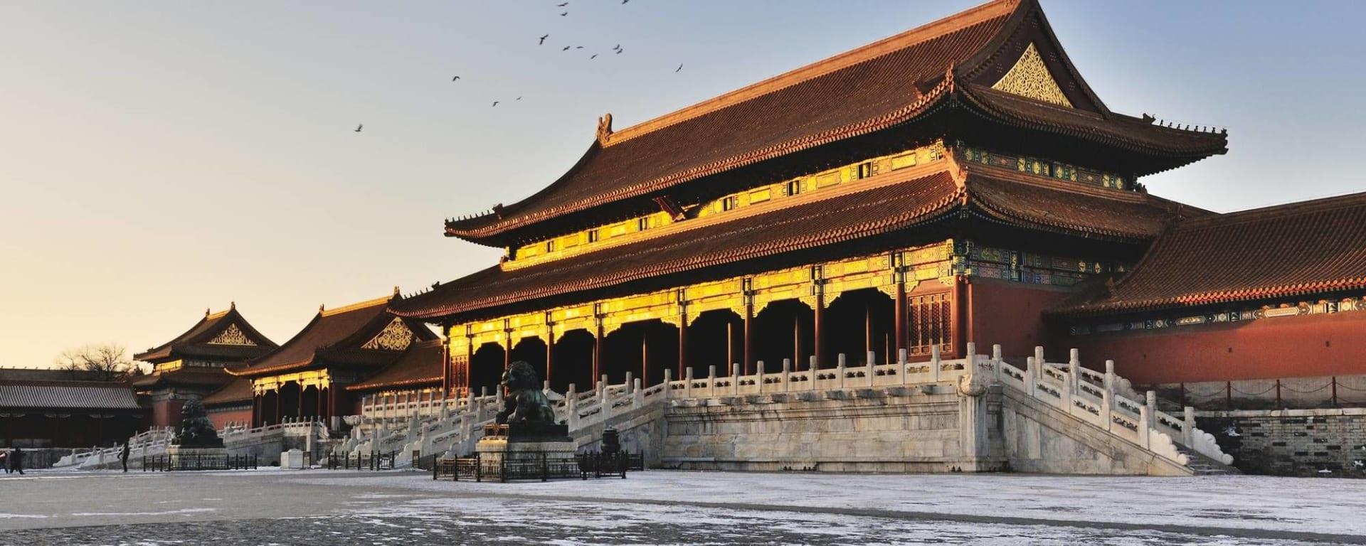 Peking zu Fuss entdecken: Beijing Forbidden City