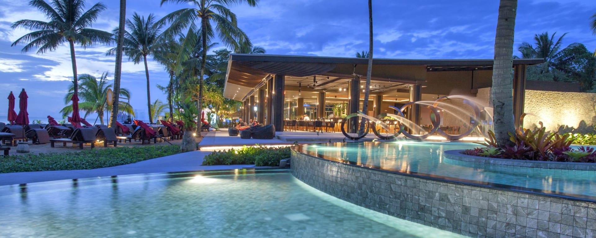 Ramada Resort by Wyndham Khao Lak: Sassi's at Night