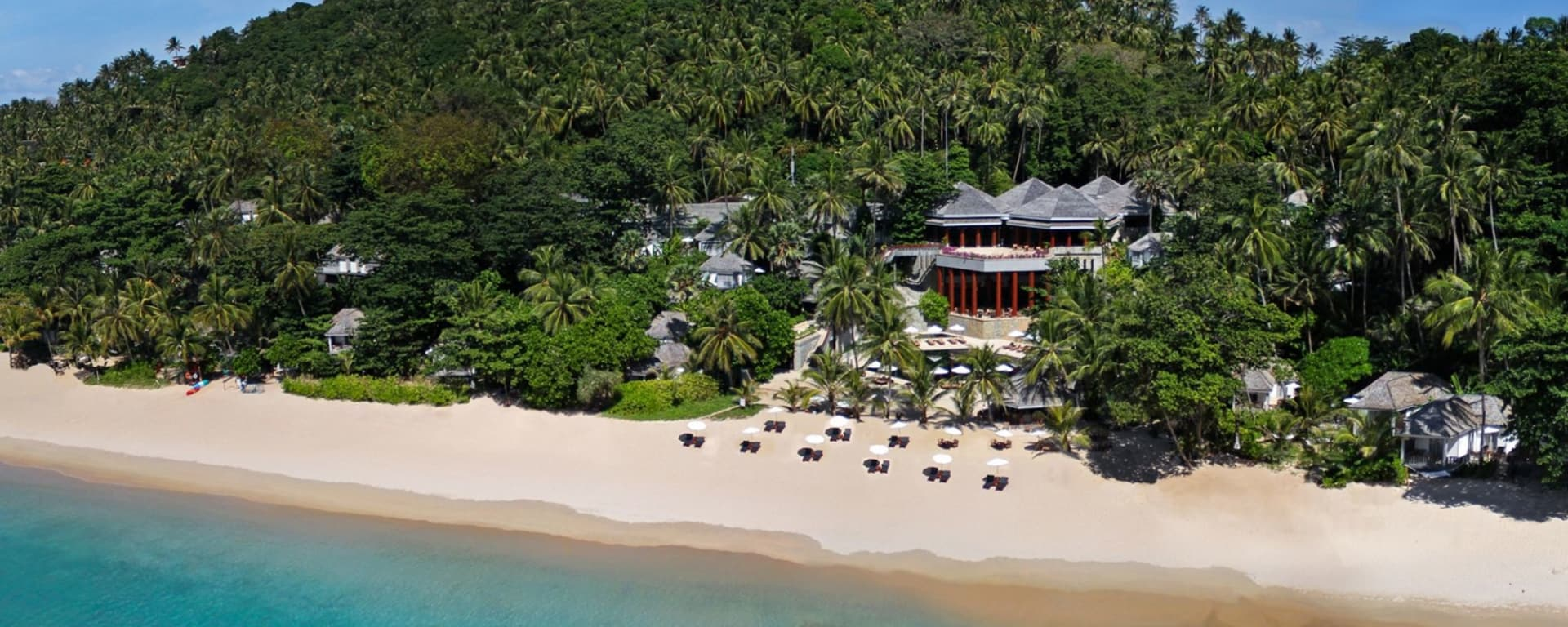 The Surin in Phuket: Aerial View