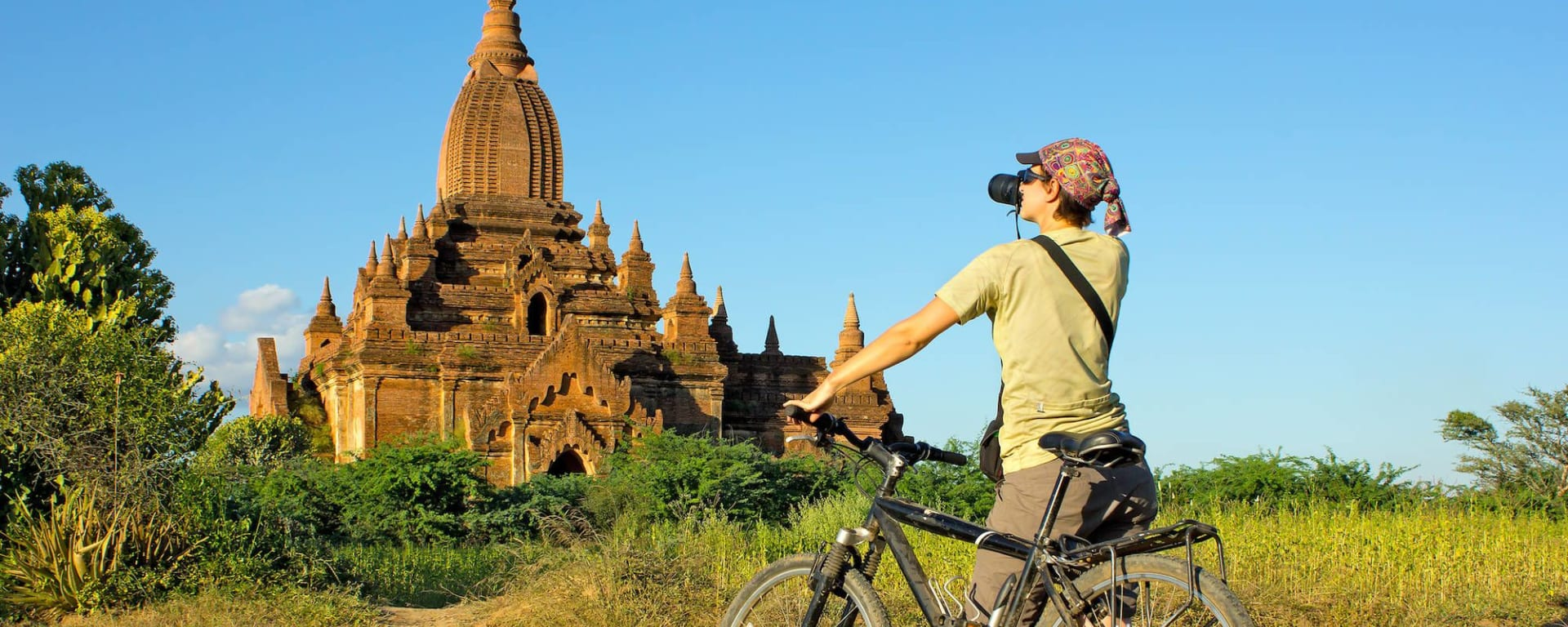 Myanmar aktiv erleben ab Yangon: Bagan: touring with bycycle