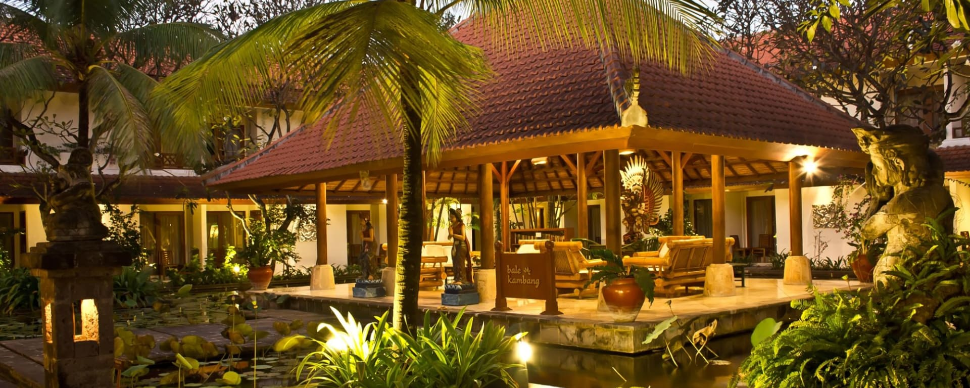 Bali Rani in Südbali: Pond