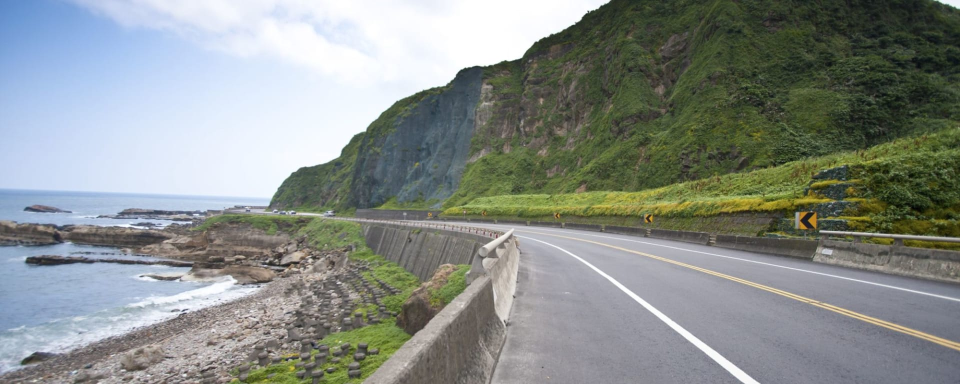 Best of Taiwan ab Taipei: Coastal Road and Sea