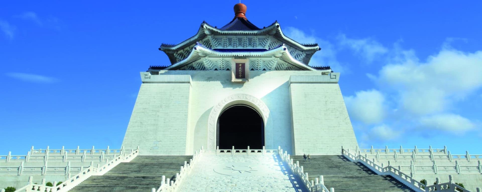 Tour de ville de Taipei: Taipei Chiang Kai-Shek Memorial Hall