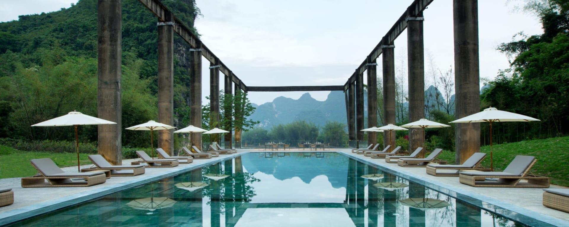 Alila Yangshuo: Pool