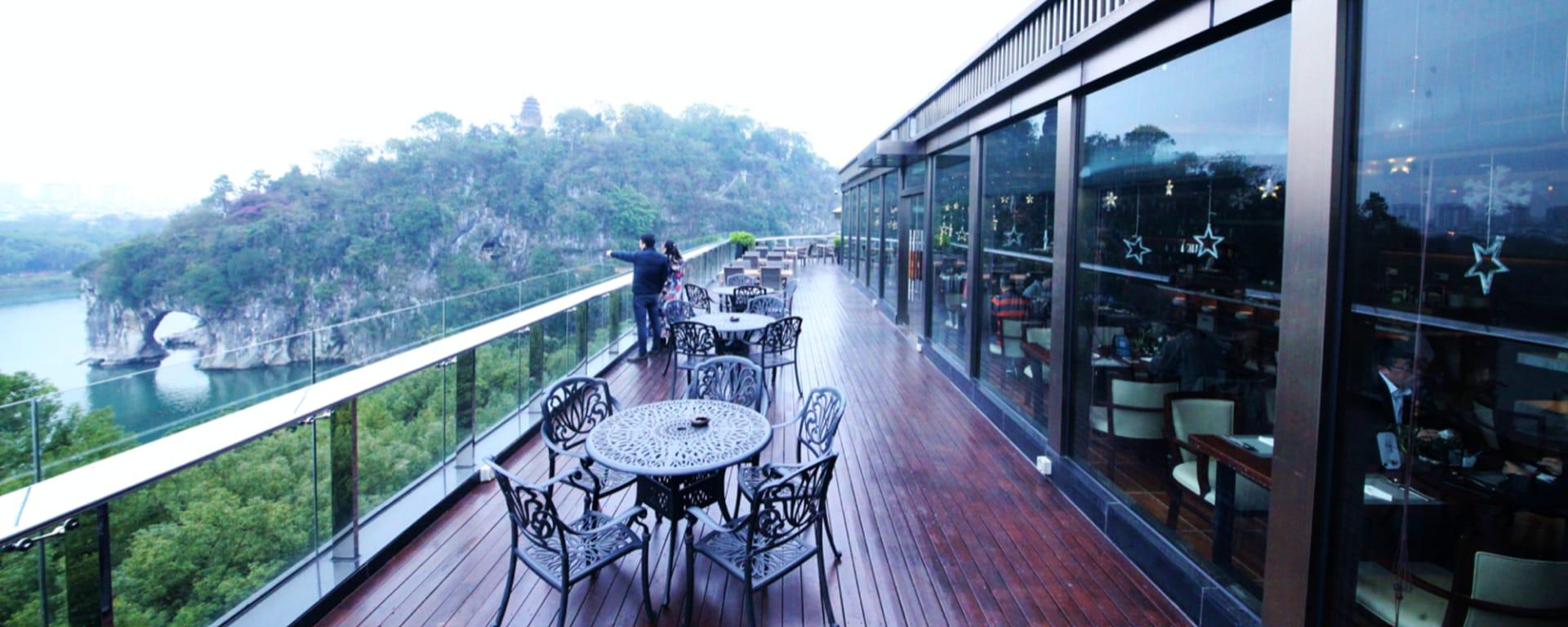 Jolie Vue Boutique Hotel in Guilin: Restaurant & Bar