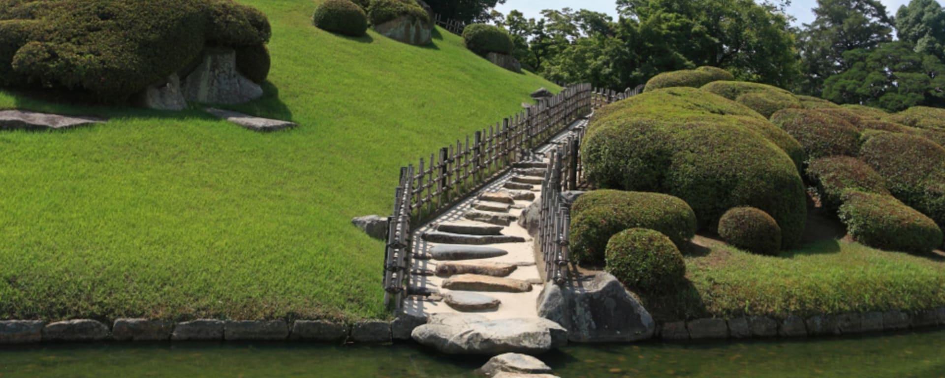 Circuit en groupe «Geisha» de Tokyo: Okayama: Korakuen Garden