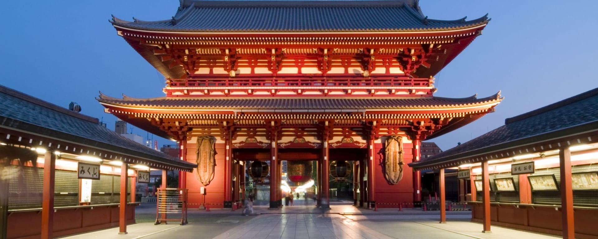 Tokio Highlights – Ganzer Tag: Senso-ji (Kannon) Temple Asakusa