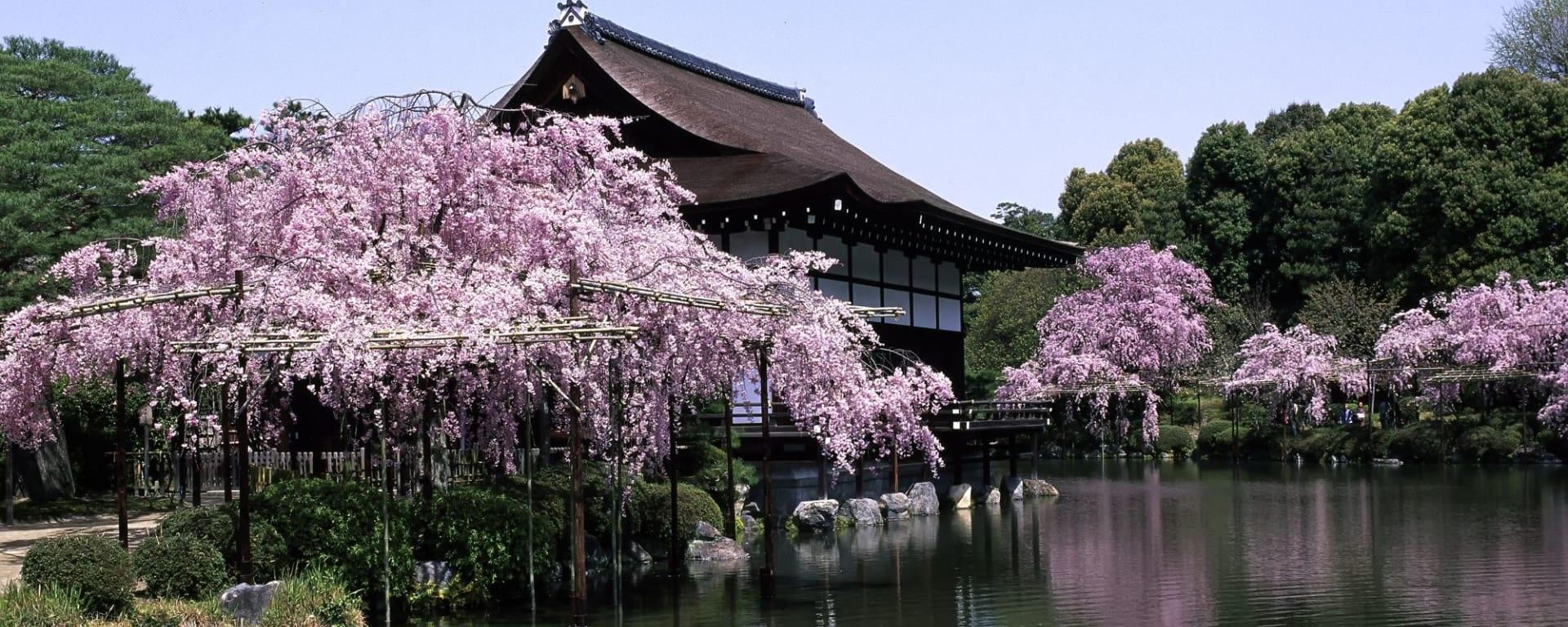 Klassisches Japan ab Tokio: Kyoto Heian Shrine