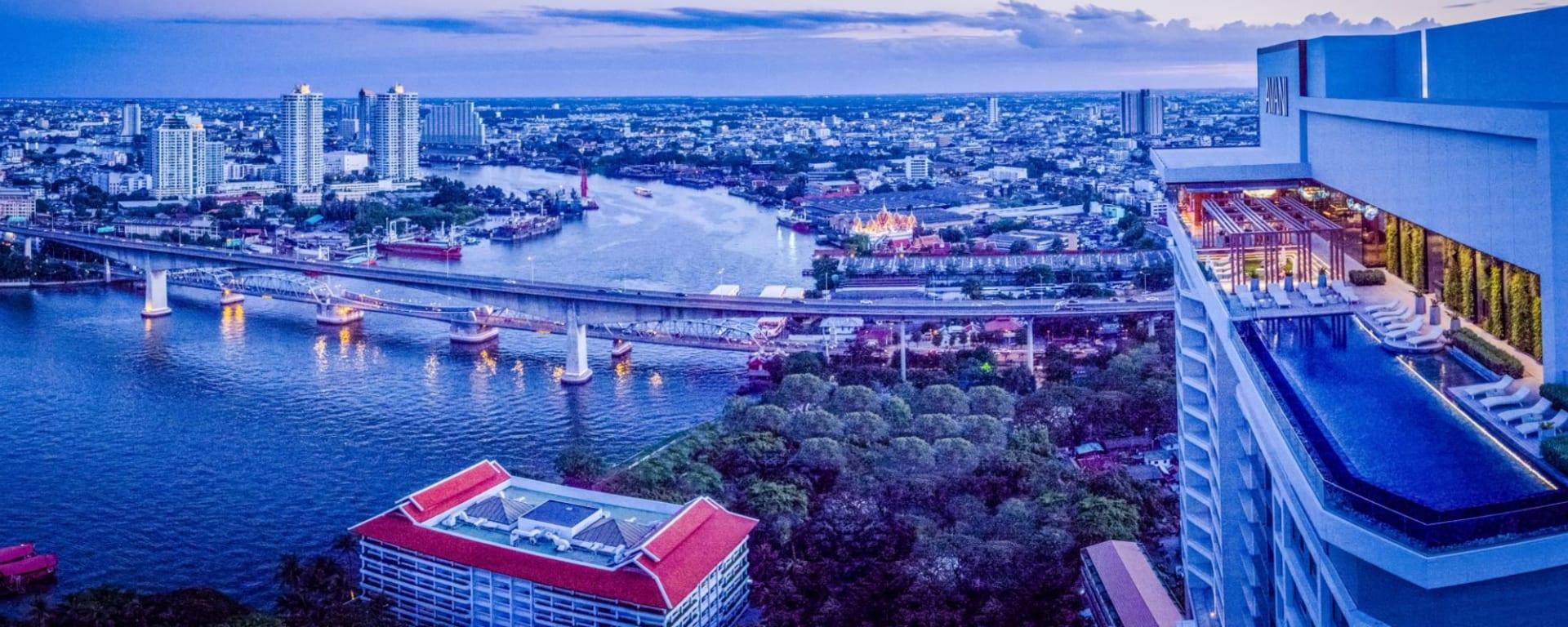AVANI+ Riverside Bangkok Hotel: location