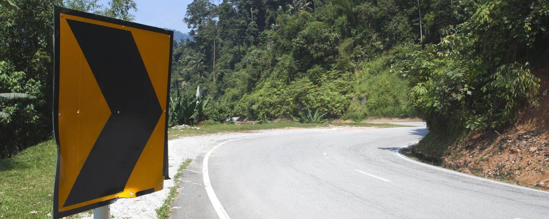 Malaysia - Grosse Mietwagenrundreise - SIN-PEN ab Kuala Lumpur: Malaysia Cameron Highlands Road Sign