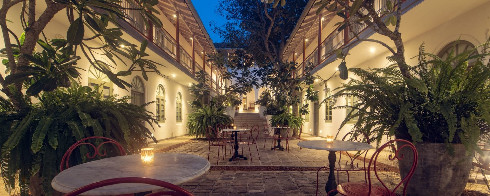 Fort Bazaar à Galle: Courtyard