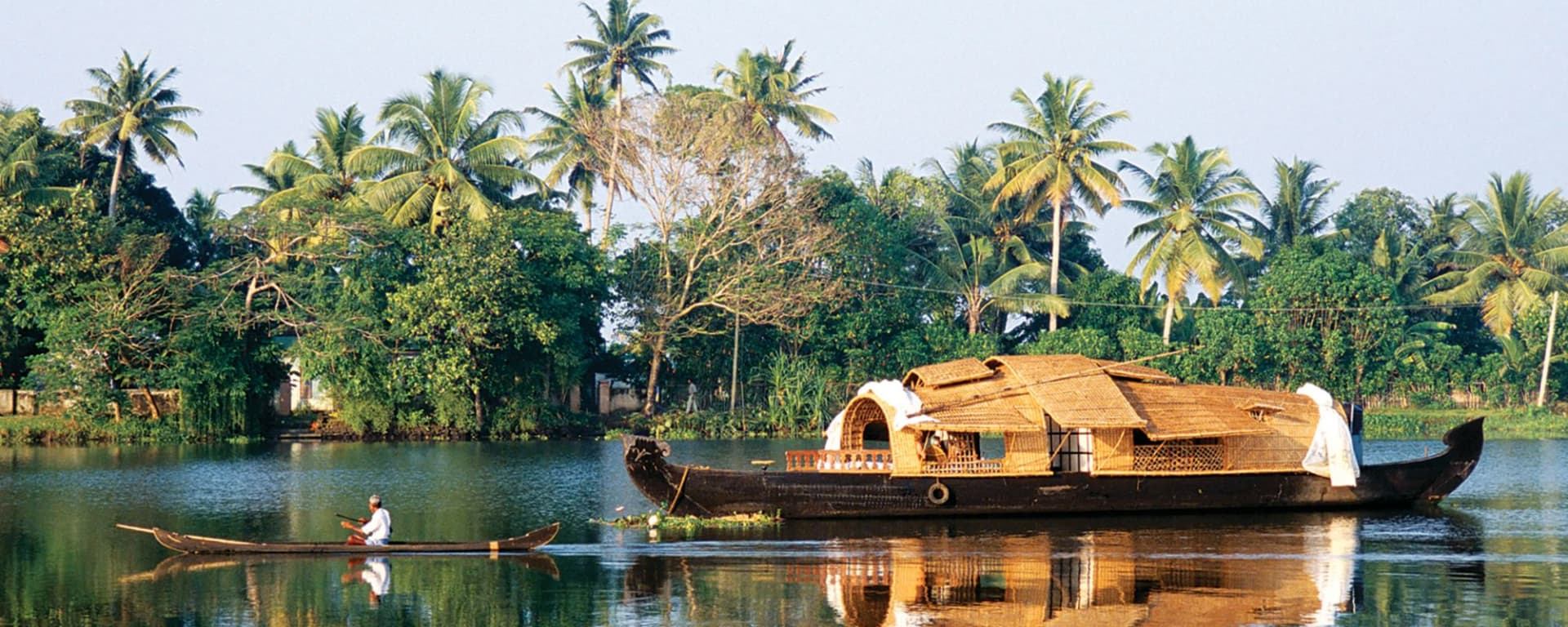 Les beautés naturelles du Kerala de Kochi: Backwaters: house boat