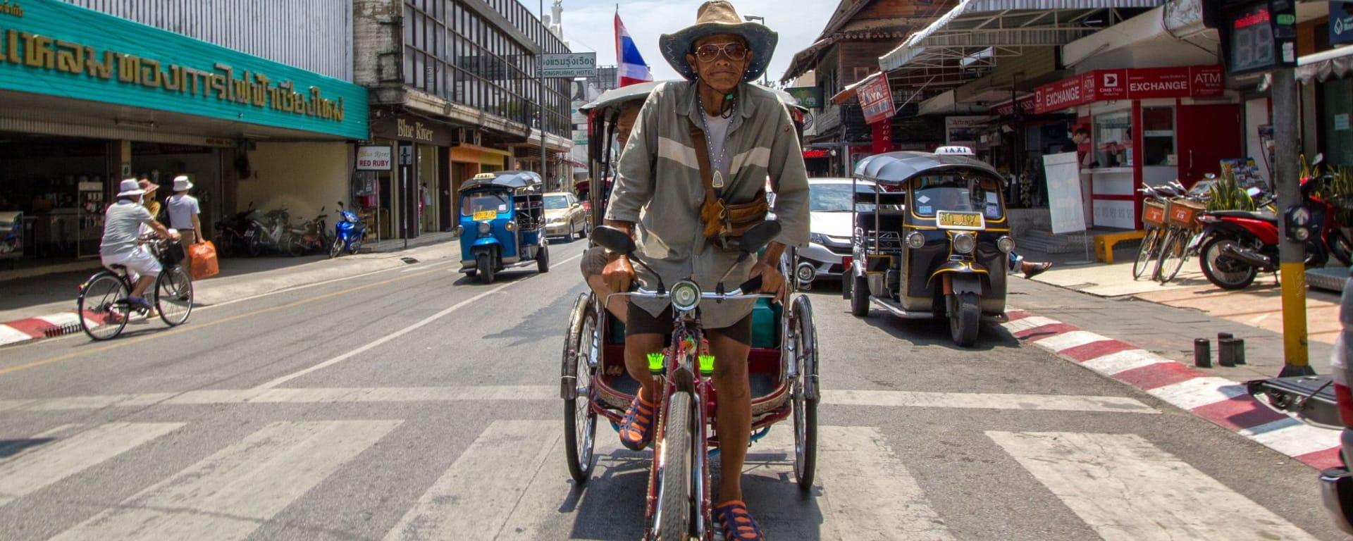 Chiang Mais Altstadt: Chiang Mai Riksha Driver