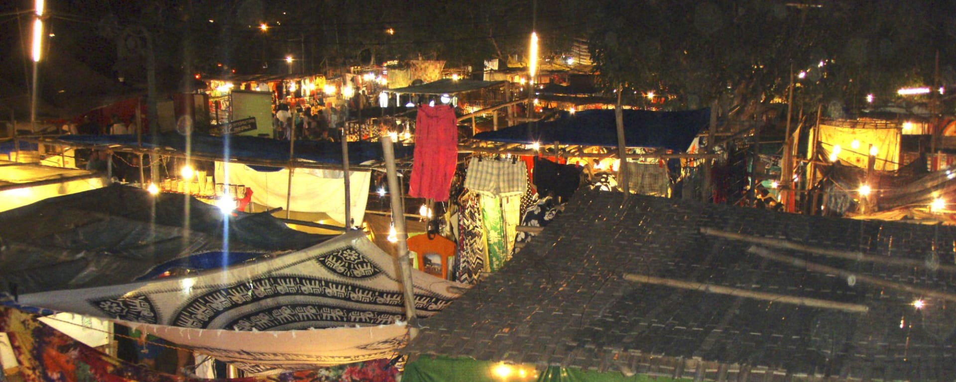 Goa by night: Ingos Nightmarket