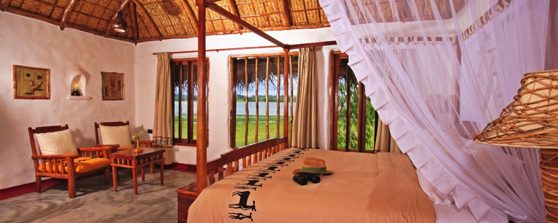 Evolve Back Kuruba Safari Lodge à Parc national de Nagarhole: Pool Hut | Bedroom