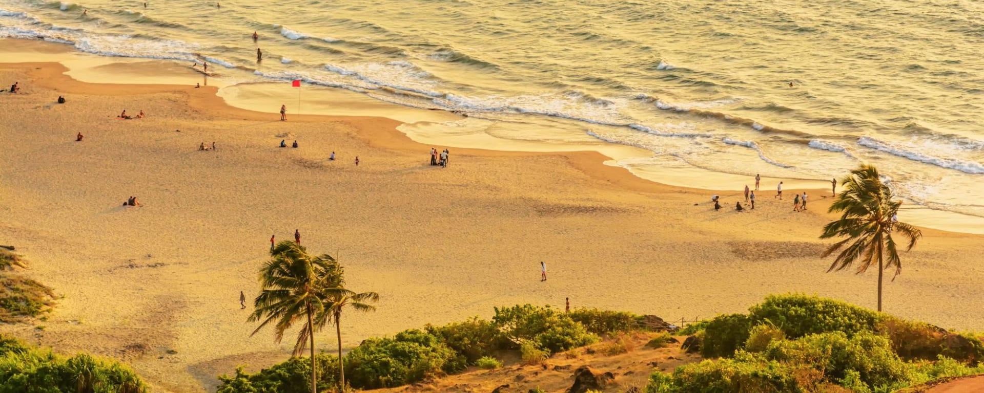 «The Deccan Odyssey» - La splendeur du Maharashtra de Mumbai: Sandy Beach, Goa
