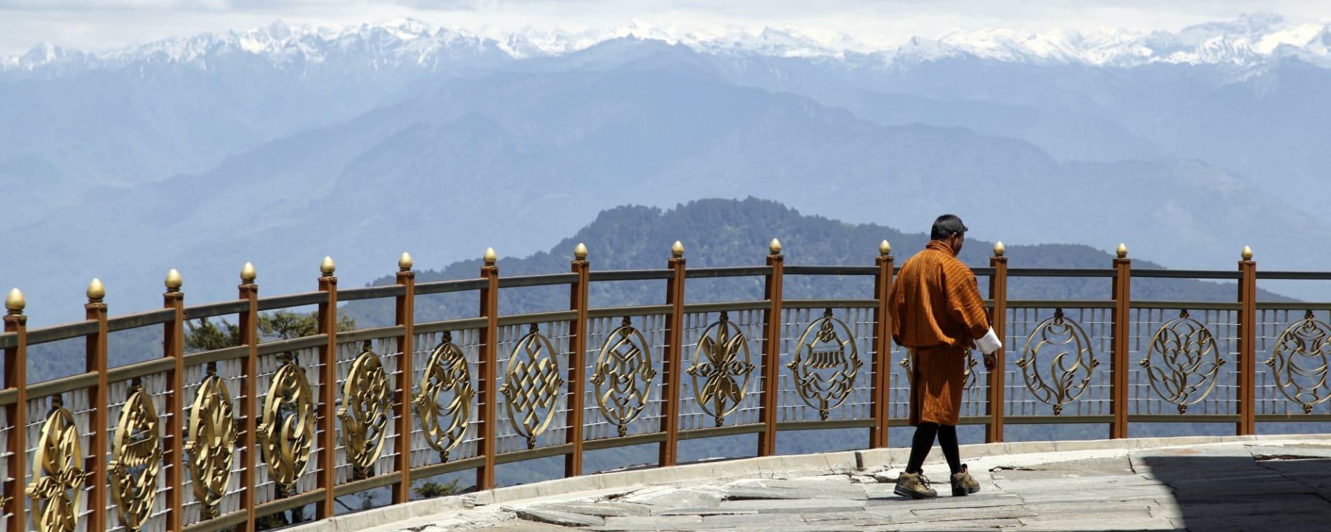 Bhutan - Land und Legenden ab Paro: Dochu Pass
