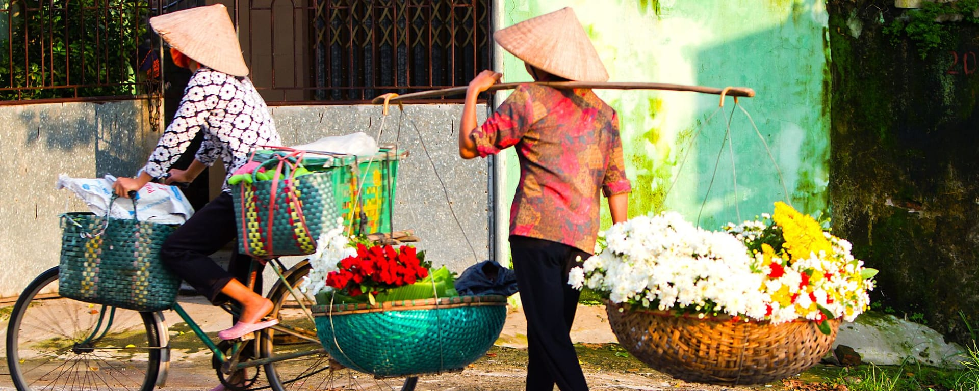 Hanoï de votre propre chef ½ jour à Hanoi: Hanoi: Flower Vendor