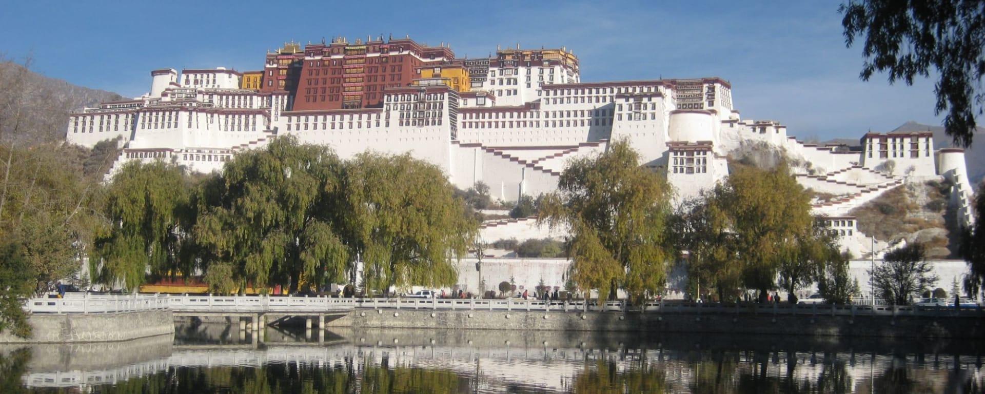 Die Magie des Tibets - Basisprogramm ab Lhasa: Lhasa Potala Palace