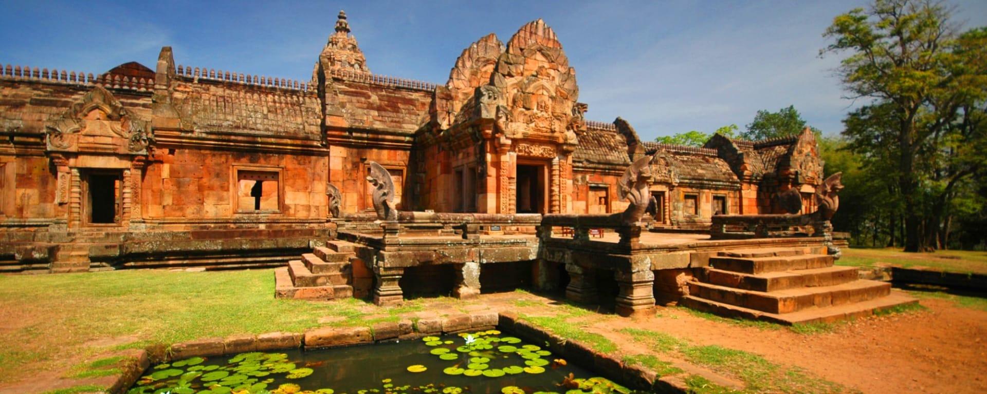 Unbekannter I-San ab Bangkok: Phanom rung national park in North East of Thailand