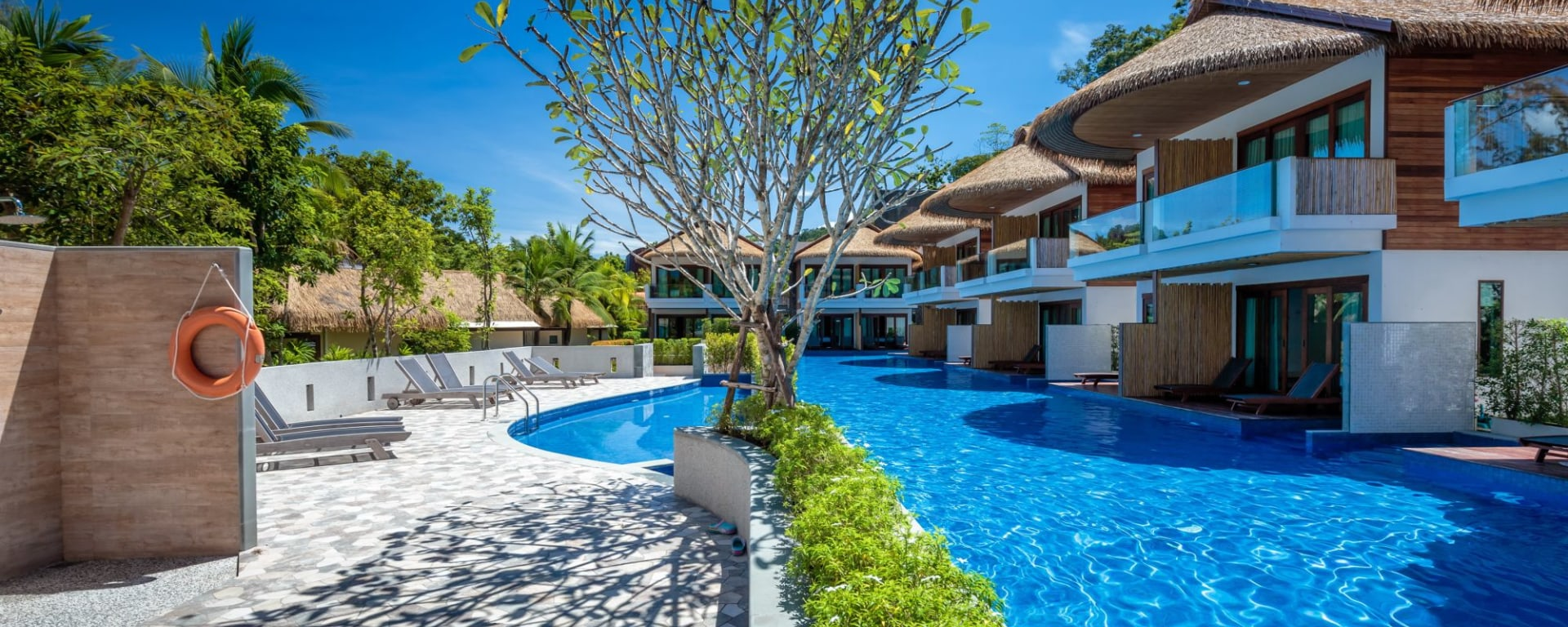 Tup Kaek Sunset Beach Resort à Krabi: Swimming Pool