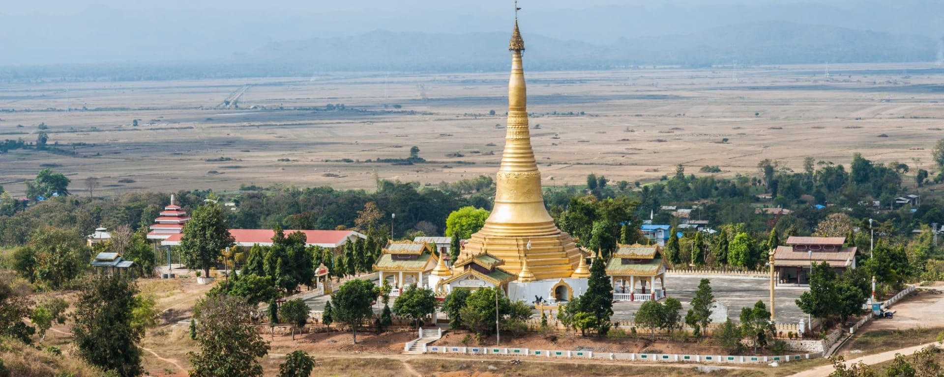 Kayah - Reise in eine verborgene Welt ab Inle Lake: Myanmar Kayah Loikaw Pagoda