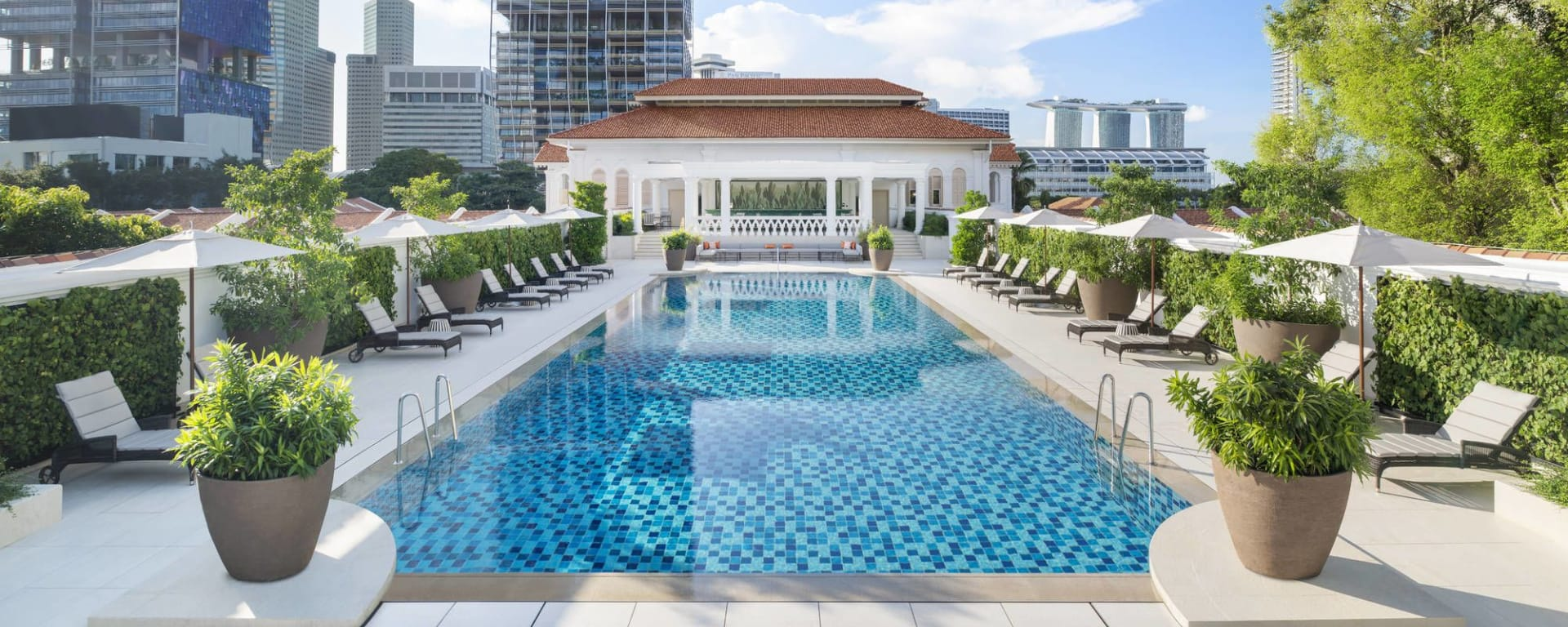 Raffles Singapore in Singapur: Swimming Pool
