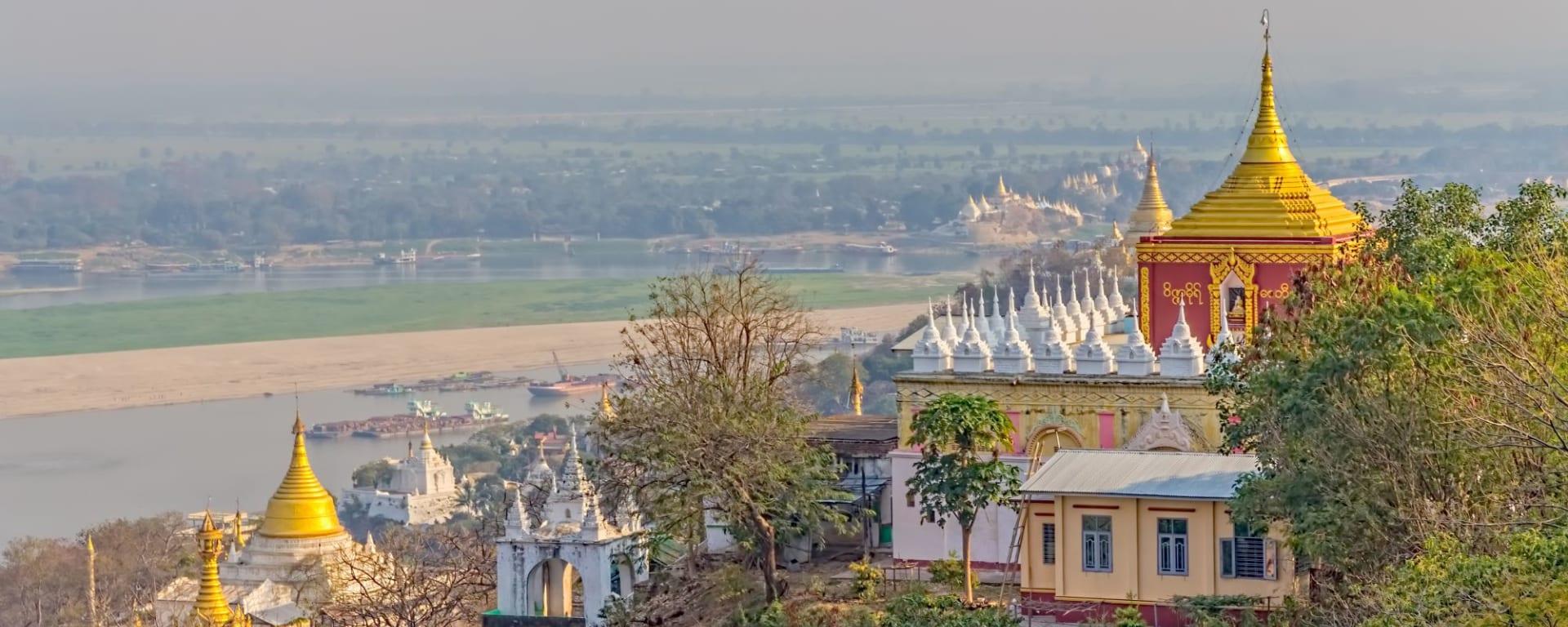 Myanmar - Land der Tempel und Pagoden ab Yangon: Mandalay Sagaing Hill